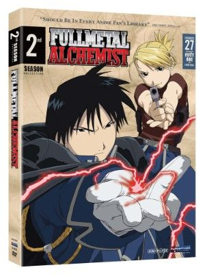 Fullmetal Alchemist Season 2 DVD Box Set (Hyb) - Viridian Collection #RightStuf2013