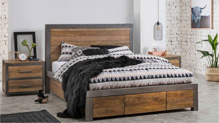 Soho 3 Drawer Bed - Harvey Norman