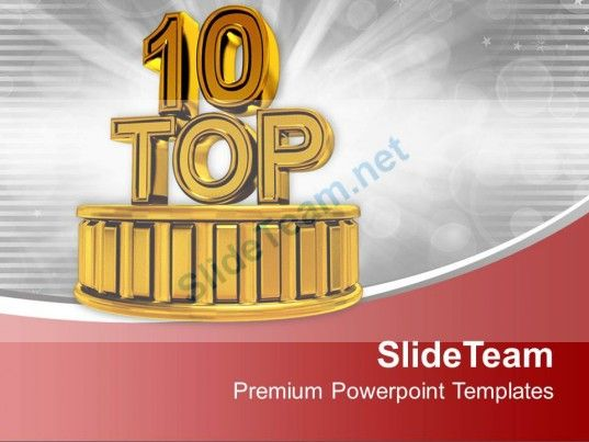 top ten business opportunity powerpoint templates ppt themes and