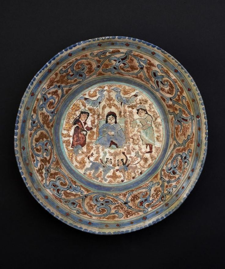 Bowl. Seljuk.  Late 6th - early 7th. Iran | Museo d'Arte Orientale