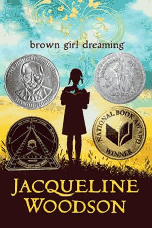 Brown Girl Dreaming, by Jacqueline Woodson - Raised in South Carolina and New York, Woodson always felt halfway home in each place. In vivid poems, she shares what it was like to grow up as an African American in the 1960s and 1970s, living with the remnants of Jim Crow and her growing awareness of the Civil Rights movement. Touching and powerful, each poem is both accessible and emotionally charged, each line a glimpse into a child's soul as she searches for her place in the world.