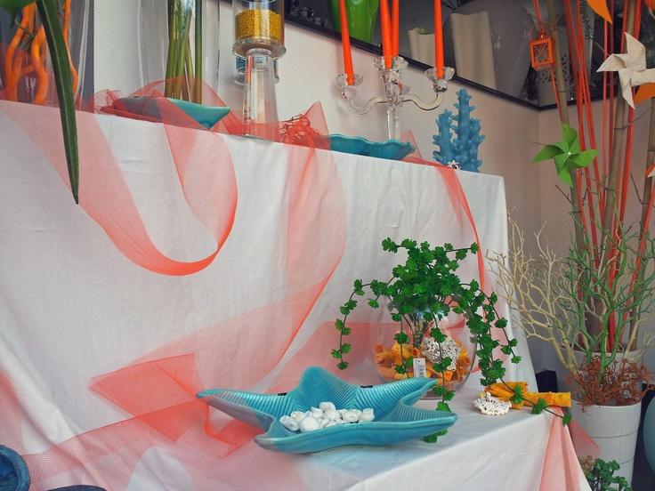 piatto stella marina azzutto