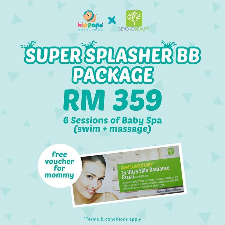 September has fall ! ATTENTION TO MOMMIES !!! 💁♀️🚺  We have special promotion to announce for this month! In collaboration with Beyond Beauty, we are delighted to give you Beyond Beauty FREE FACIAL TREATMENT voucher worth RM200!!! In order to enjoy the free facial treatment, you must purchase our SUPER SPLASHER BB package worth RM3️⃣️5️⃣️9️⃣️ (for 6️⃣️ sessions).   This promo is valid in 7️⃣️ outlets in Klang Valley only.  ☎️ Call us for more info :  📞 Centrepoint Bandar Utama, Petaling…