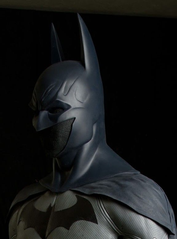 Real Batman Costume Arkham City