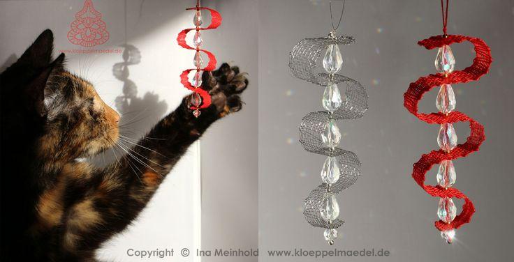 Foto Baumschmuck Funkelchen und Katze