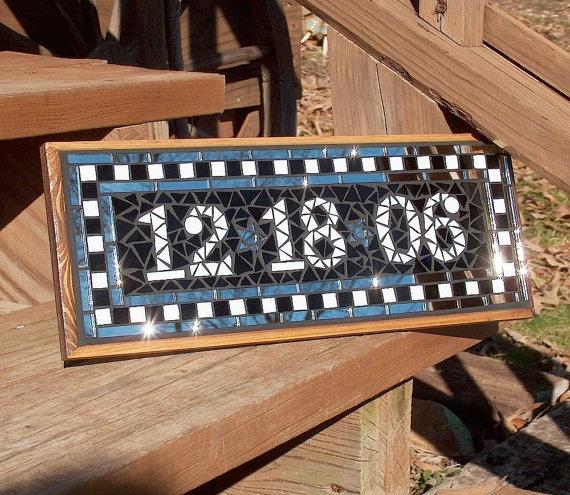 Save The Date Mosaic Sign Plaque Diy Ideas Pinterest