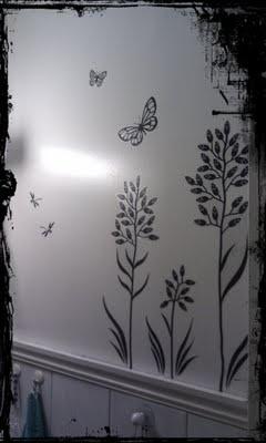 Wall Sticker in my bathroom.