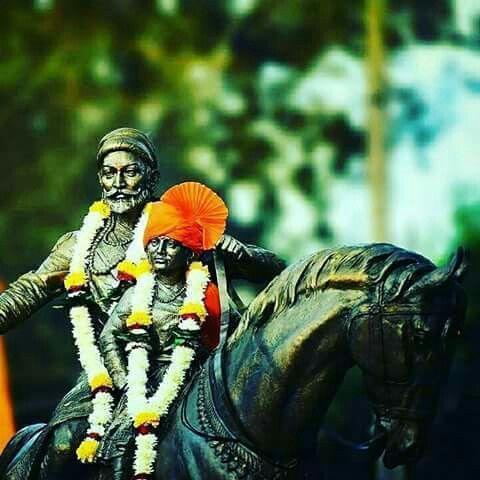 SHIVRAY WITH SON CHATRAPATI SAMBHAJI MAHARAJ
