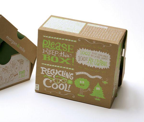 Morgan U0026 Milo Packaging, Typography, Illustration By Chris Piascik