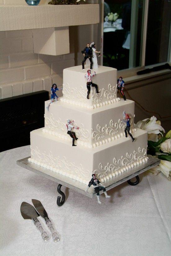 Awesome Zombie Wedding Cake #4