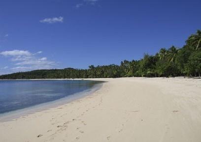 A slice of paradise...InterContinental Fiji Golf Resort & Spa via BeautifulPacific.com
