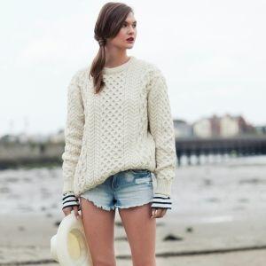 Blasket Aran Sweater. www.aransofireland.com