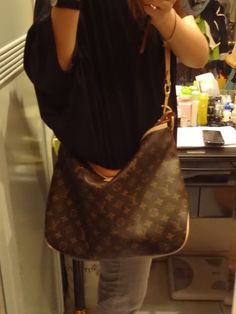 louis vuitton delightful with luggage strap - Google Search