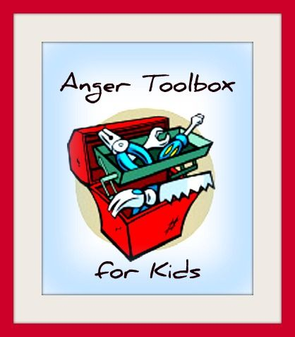 Anger Toolbox for Kids - helping typically developing and special needs kids cope with and better manage anger! #SpEd #ece #ADHD #Autism