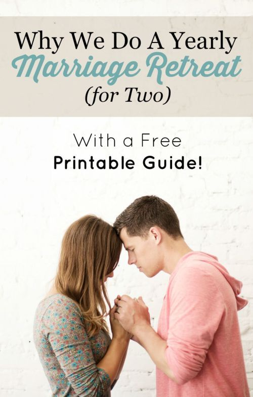Why We Do a Yearly Marriage Retreat (for Two): With a Free Printable Guide! – Embracing a Simpler Life