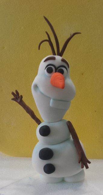 Fondant Olaf | Mick's Sweets - Flickr - Photo Sharing!