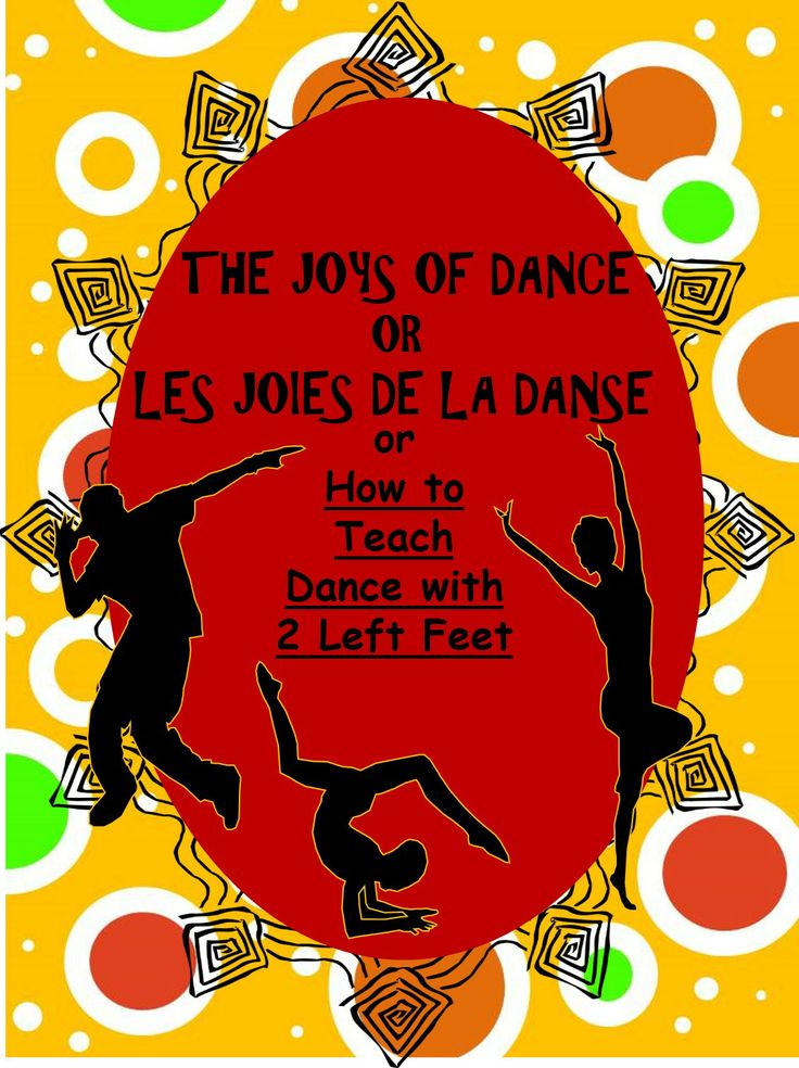"The Joys of Dance / Les joies de la dance OR How to Teach Dance with 2 Left Feet, helps a teacher ""facilitate"" dance so that the students practically teach themselves using 40 Verb cards EN FRANÇAIS and English, 20 Formation cards EN FRANÇAIS and English and 8 Formation posters.  4 dance explanations in English are included.  Fun finished dance segments which can be graded are the results.  BILINGUAL.$"