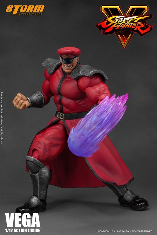 Street Fighter Storm Collectables 1:12 M. Bison action figure.  #streetfighter #otaku #actionfigures #stormcollectables #toys