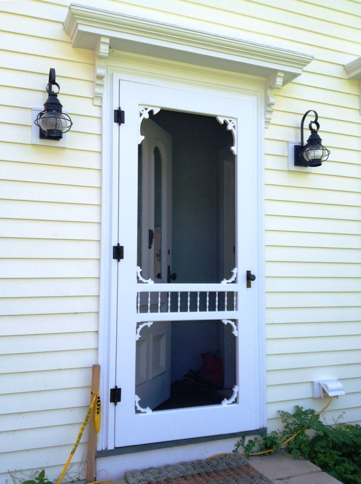 42 Best Images About Victorian Screen Doors On Pinterest