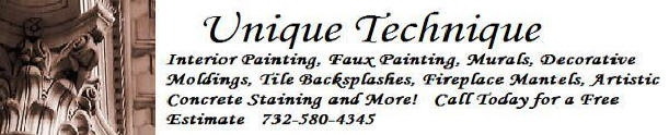 Painter, Painting Contractor, Faux Painting, Wallpaper, Mouldings, Ceramic Tile and More!