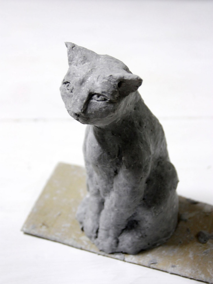 Paper mache Cat Tutorial
