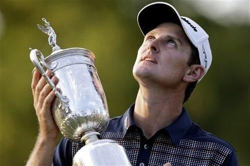 Justin Rose wins the US Open! #golf #justinrose #usopen #pga #majorchampionship