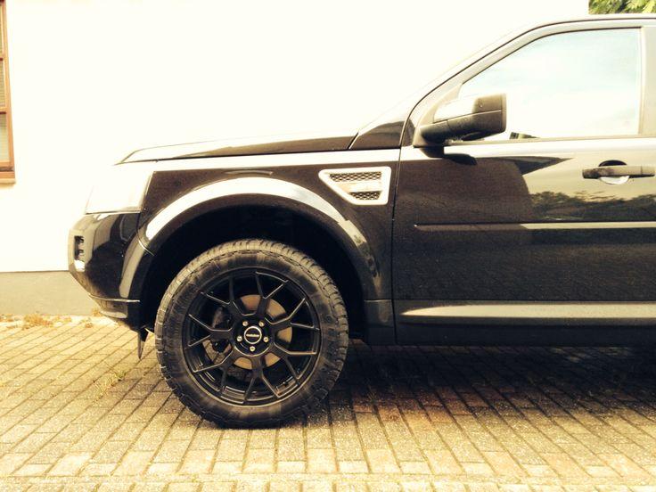 Land Rover Freelander 2 with special MATZKER Wheels