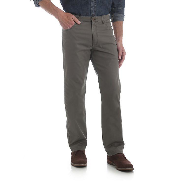 Mens wrangler performance series straight fit 5 pocket