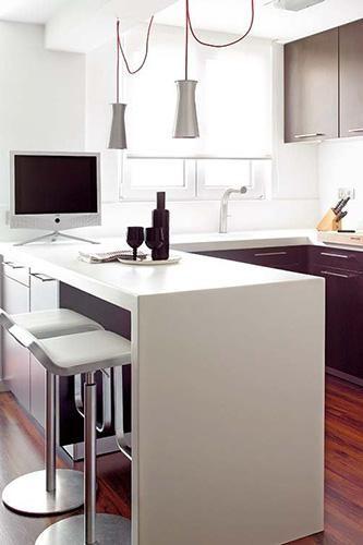 cocinas con barra 10