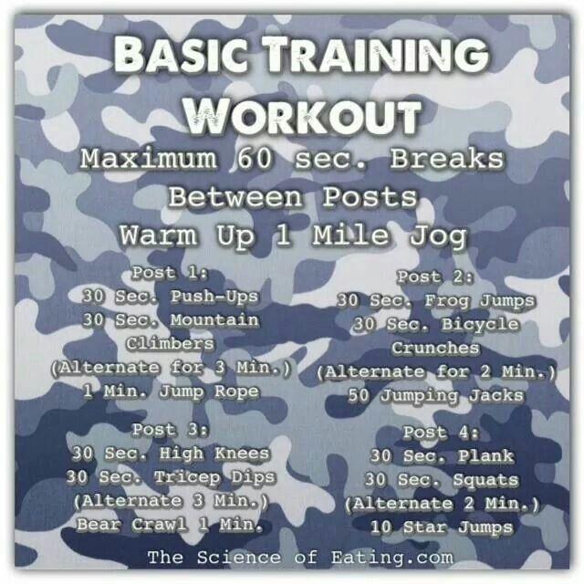 Basic Training Workout