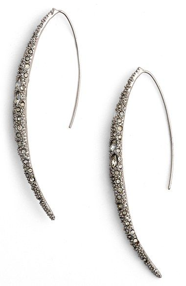 Alexis Bittar Encrusted Spear Threader Earrings available at #Nordstrom