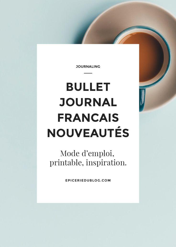 Cette semaine, j'ai découvert 3 nouveaux blogs français qui vous causent du Bullet Journal! Au programme: un mode d'emploi, un printable gratuit et un bill