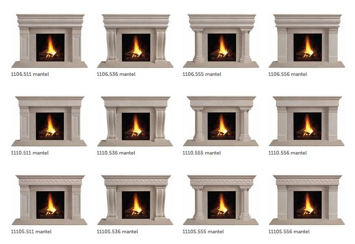 Prefab Fireplace Mantels - Home Decor