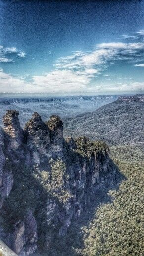 The Three Sisters in Katoomba, NSW
