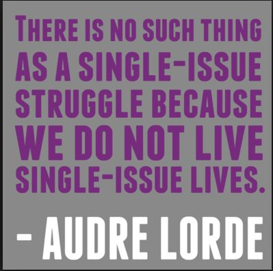 For #blackhistorymonth, we would like to recognize Audre Lorde, a Black feminist leader. In our work at the Amara Legal Center, we look at our clients' lives through an intersectional lens like Lorde prescribes, realizing the impacts of race, ethnicity, gender identity, sexual orientation, age, ability, etc. on their experiences.