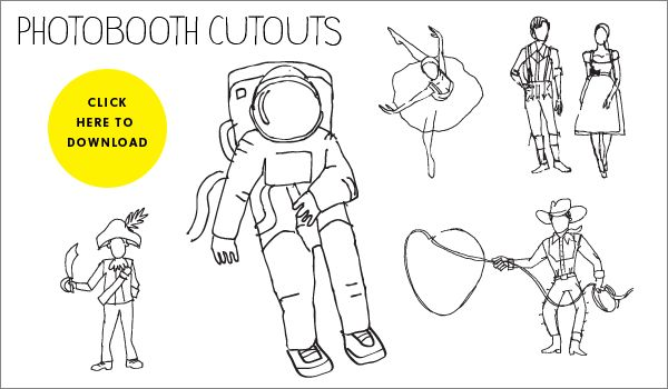 photobooth cutouts