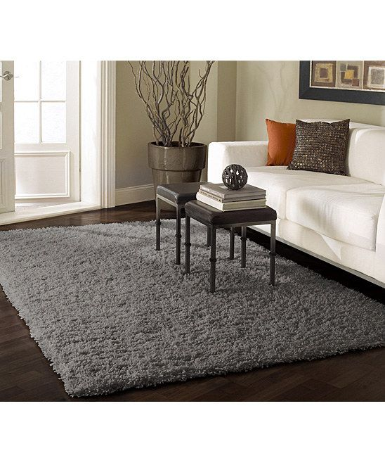 nuloom shag grey area rug adds texture and nice touch of color to your home made of material for added durability - Grey Area Rugs