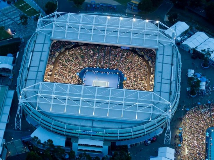 The Australian Open hosted in Melbourne. One of the biggest sporting events in Australian's calendar