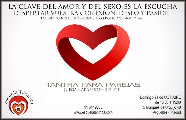 EL PLACER DE SENTIR®para #parejas http://bit.ly/2juPVhM  21 de Octubre de 16.00 a 19.00 #redescubrirse  #CONEXIONES #fluirconelotro