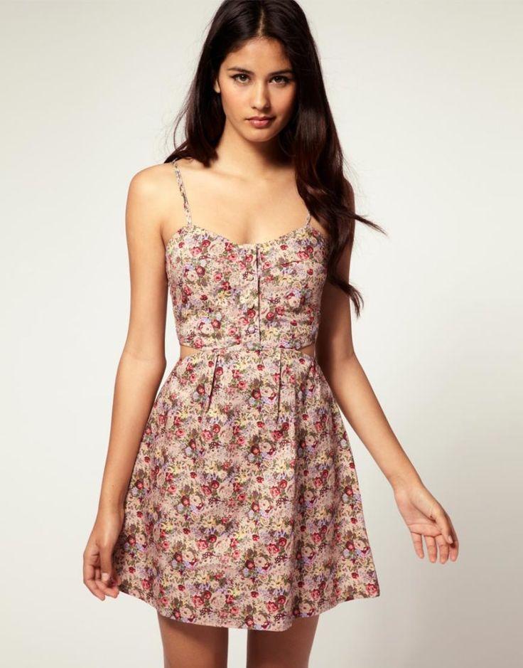 Summer sun dresses for women