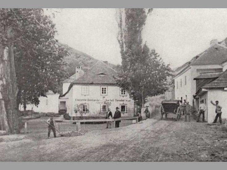 Kostel a Mariánské lázně, Chuchle, 1865