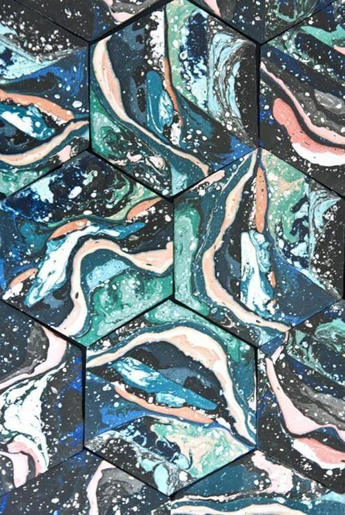 endthymes:    hilda hellström's pigmented jesmonite designs