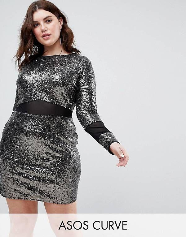 Plus Size Dresses Party Cocktail Formal Asos Curvy Fashion