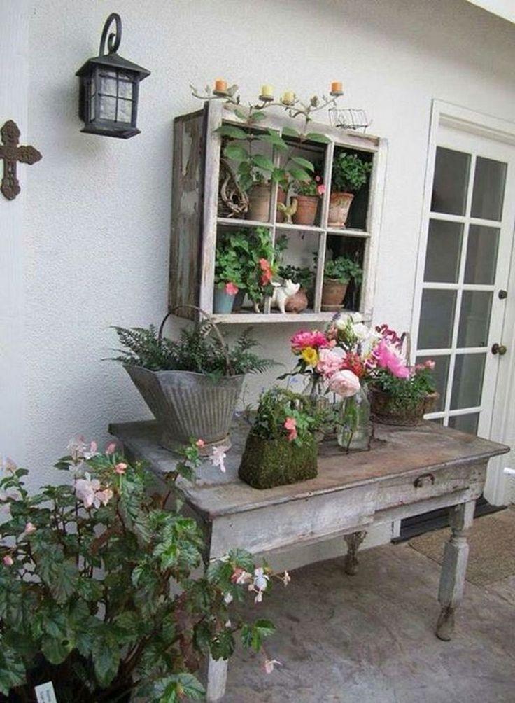 Más de 20 impresionantes ideas de decoración de jardines de Little Patio   – Entrance