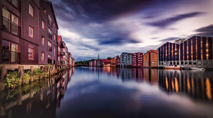 Trondheim In Blue Hours! by Aziz Nasuti on 500px