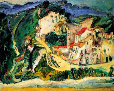 art,soutine,1924,1925
