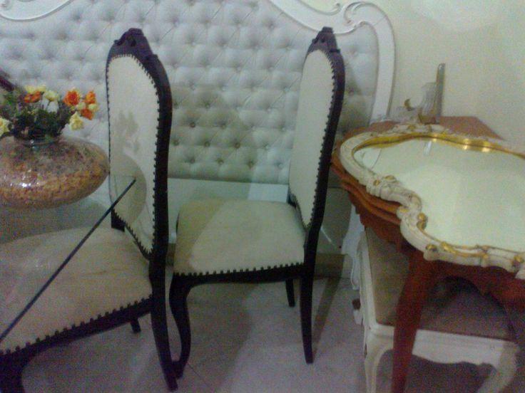 cadeiras luis xv estilo vitoriano preço para o par