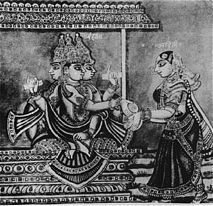 """Aditi - Aditi (Sanskrit: अदिति """"limitless"""")[1] is mother of the gods (devamatar) and all twelve zodiacal spirits from whose cosmic matrix the heavenly bodies were born. As celestial mother of every existing form and being, the synthesis of all things, she is associated with space (akasa) and with mystic speech (Vāc). She may be seen as a feminized form of Brahma and associated with the primal substance (mulaprakriti) in Vedanta. http://en.wikipedia.org/wiki/Aditi"""