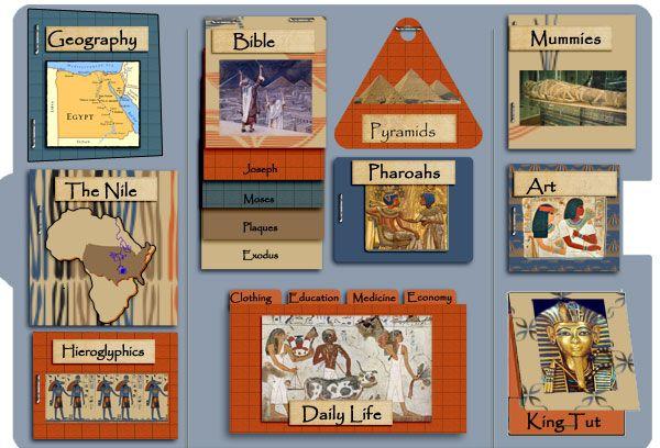 Heart of Wisdom Ancient Egypt Lapbook