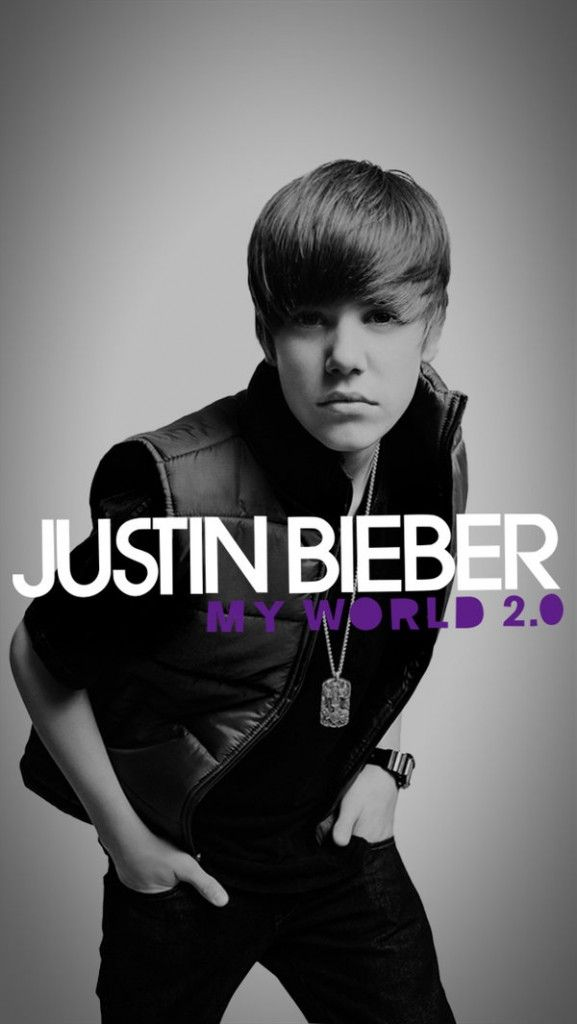 Justin Bieber My World 2.0 iPhone Wallpaper